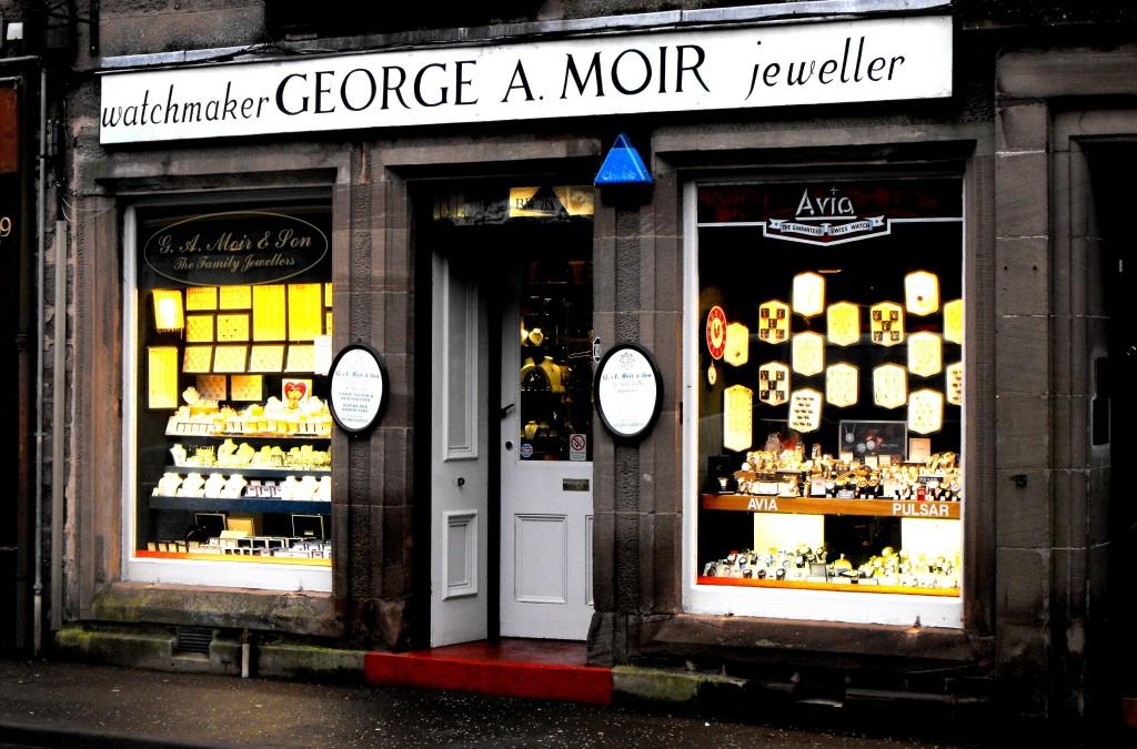 G A Moir Jewellers Brechin